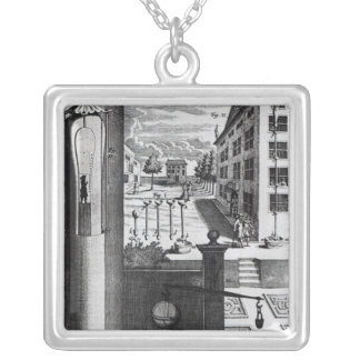 Robert Boyle's designs and ideas Square Pendant Necklace