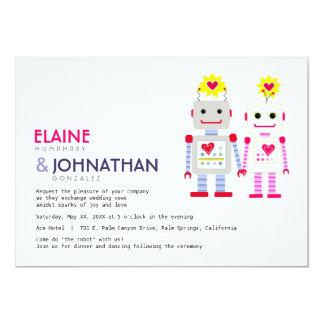 Robot Wedding Invitation