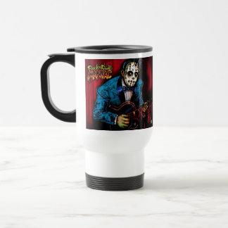 Rock n Roll Maniac Rockabilly Stainless Steel Travel Mug