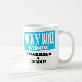 Rock N' Roll Widow Mug - Roadie!