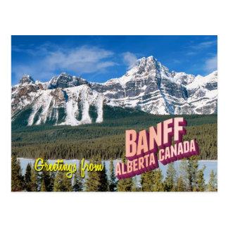 Rockies Mountains Postcard