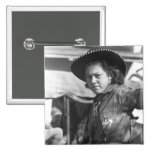 Rodeo Cowgirl: 1940 15 Cm Square Badge
