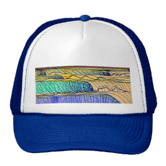 rolling waves cap