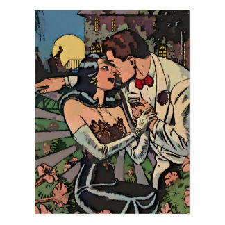 Romance in the Moonlight Postcard