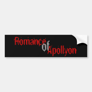 Romance of Apollyon Bumper Sticker