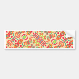 Romance Ornament Swirls Bumper Sticker