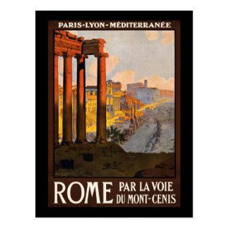 Rome par la voie du Mont-Cenis Postcard