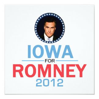 Romney Iowa Invitation