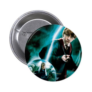 Ron Weasley and Lucius Malfoy 6 Cm Round Badge