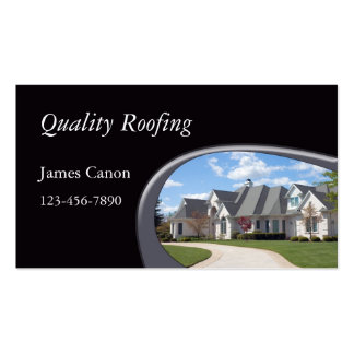 Roofing Pack Of Standard Business Cards