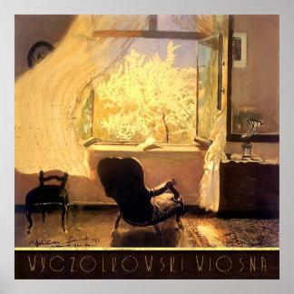 Room With a View Wyczolkowski Wiosna Poster