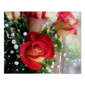 Rose Bouquet Poster