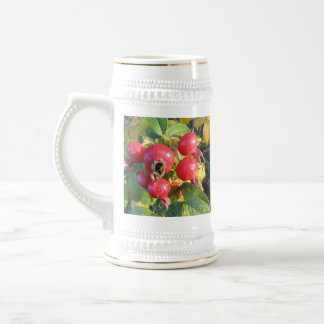 Rose hips stein beer steins