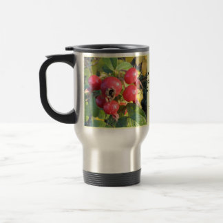 Rose hips travel mug