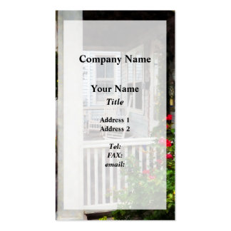Roses and Rocking Chairs Pack Of Standard Business Cards