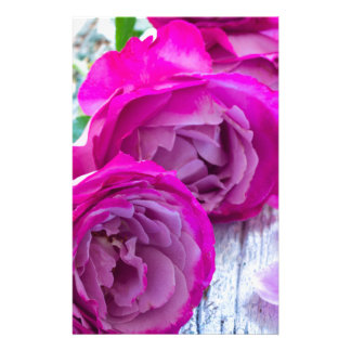 roses background stationery paper