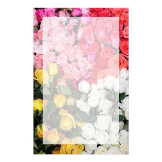 Roses for sale, San Miguel de Allende, Mexico Stationery Design