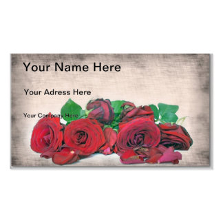 Roses Pack Of Standard Business Cards