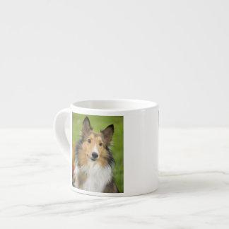 Rough Collie, dog, animal Espresso Mug