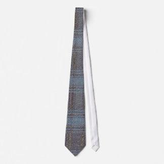Rough Plaid Tie