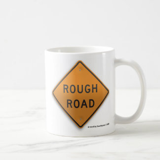 Rough Road Basic White Mug
