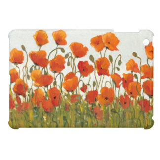 Rows of Poppies I Case For The iPad Mini