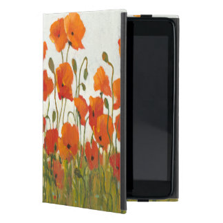 Rows of Poppies I Covers For iPad Mini
