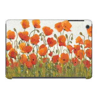 Rows of Poppies I iPad Mini Retina Cover