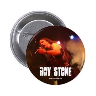 ROY STONE Live Pic button pin badge