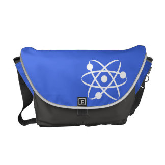Royal Blue Atom Messenger Bag