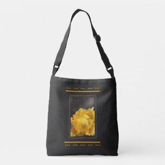 Royal Yellow Rose Cross Body Bag Tote Bag