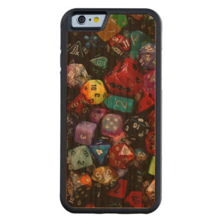 RPG Multi-sided Dice Cherry iPhone 6 Bumper Case