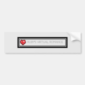 Ruby's Virtual Romance Bumper Sticker