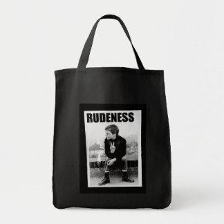 Rudeness Grocery Tote Bag