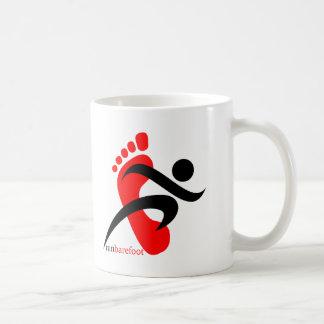 runbarefoot 2 basic white mug