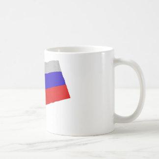 russia basic white mug