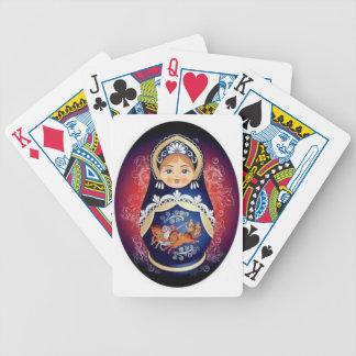 Russian Doll Babushka Playing Cards