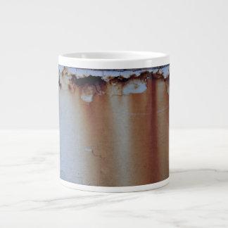 Rusty Jumbo Coffee Mug with Rough Edge Jumbo Mug