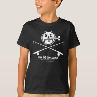 S&C Fishing Kids on Dark Apparel Tshirts