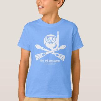 S&C Snorkeling Kids on Dark Apparel T Shirts