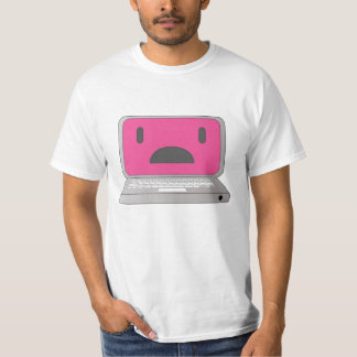 Sad laptop tshirt
