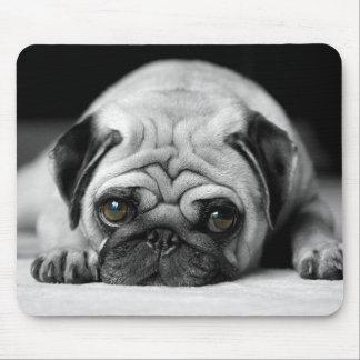 Sad Pug Mouse Pad