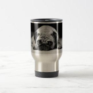 Sad Pug Stainless Steel Travel Mug