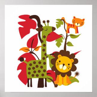 Safari Life Poster