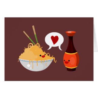 Salty Valentine Greeting Card