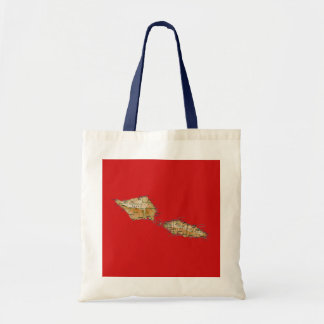 Samoa Map Bag