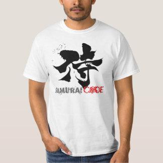 "Samurai Code ""The code of honor"" Tee Shirt"