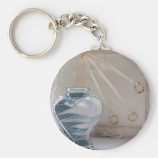 Sands of Time Series Basic Round Button Key Ring