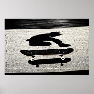 sandwiched skateboard poster