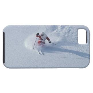 Santa Skiing at Snowbird Ski Resort, Wasatch Tough iPhone 5 Case